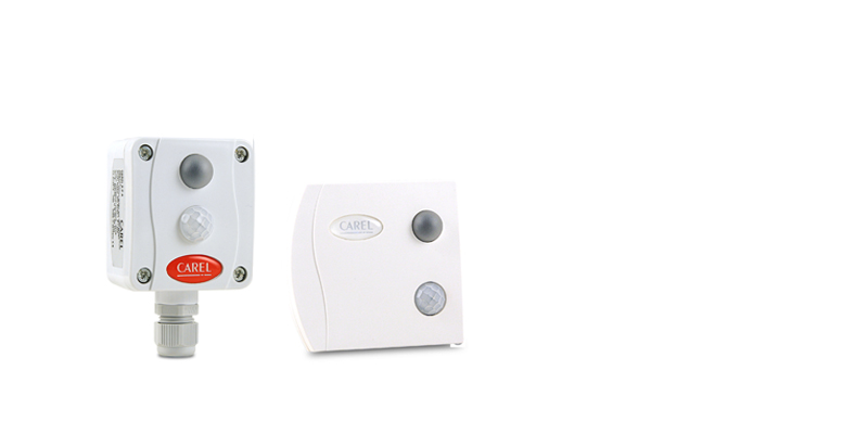CAREL Sensors for measuring ambient light and occupancy