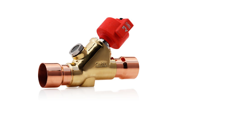 E6V valves, designed for high capacity chillers, air-conditioning systems and heat pumps.