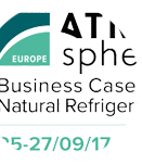 CAREL nat ref case studies on stage at ATMOsphere Europe