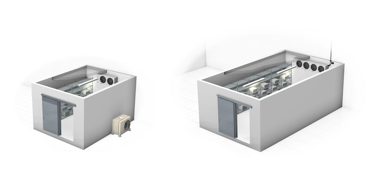 Carel supplies a vast range of controllers and humidifiers for cold rooms